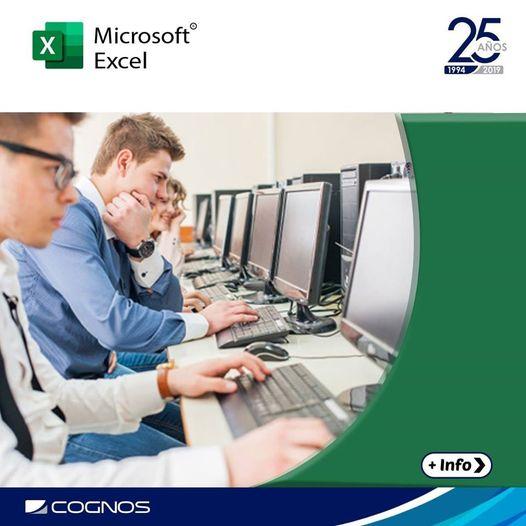 Course Image OFF-705-1 Microsoft Office Excel 2016: Nivel II - Función y manejo de datos - Oct21-NN