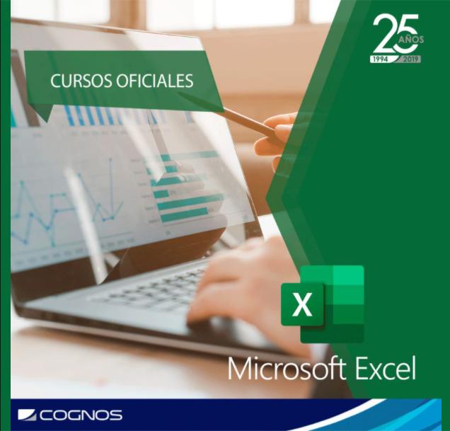 Course Image OFF-704 Microsoft Office Excel 2016: Nivel I - Fundamental-AGO-SC